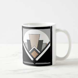 Art Deco Fan Expression Coffee Mug