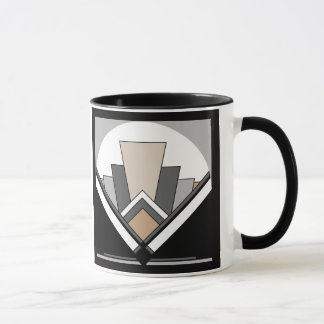 Art Deco Fan Expression Mug