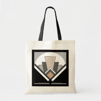 Art Deco Fan Expression Tote Bag