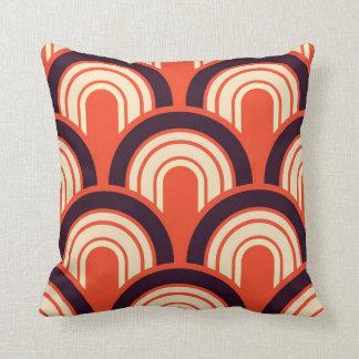 Art Deco Fifties Retro Abstract Art Throw Pillow