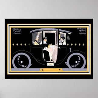 Art Deco Flanders Colonial  Ad - 13 x 19 Print