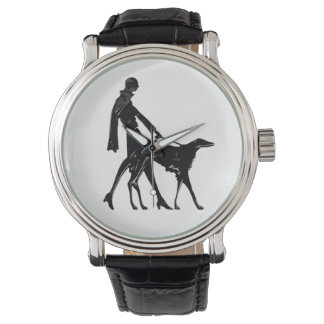 Art Deco Flapper - Borzoi Watch