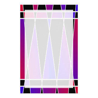 Art Deco 'Fractured' by Kenneth Yoncich Customized Stationery