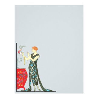 Art Deco Friday Vintage Fashion Letterhead