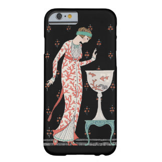 Art Deco George Barbier Goldfish iPhone 6 case Barely There iPhone 6 Case
