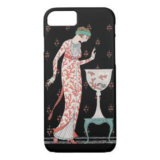 Art Deco George Barbier Goldfish iPhone 7 case