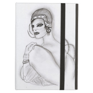 Art Deco Girl 2 Cover For iPad Air