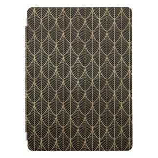 Art Deco Gold Elegant Scales Scallop Pattern iPad Pro Cover