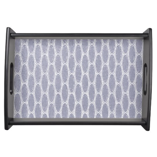 Art Deco Honeycomb Serving Tray