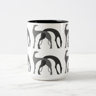 Art Deco Hounds Mug