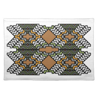 Art Deco Inspired American MoJo Placemat