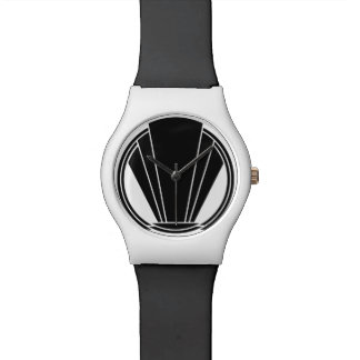 Art Deco Inspired Crest Wristwatch