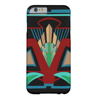 Art Deco iPhone 6/6s Case (Black) Barely There iPhone 6 Case