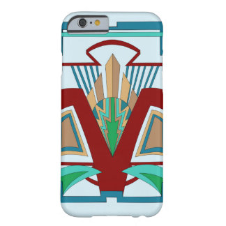 Art Deco iPhone 6/6s Case (Pale Blue) Barely There iPhone 6 Case