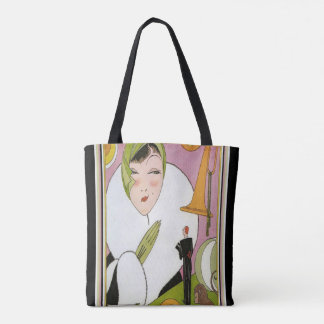 Art Deco Jazz Tote
