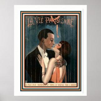 Art Deco La Vie Parisienne 16 x 20 Poster