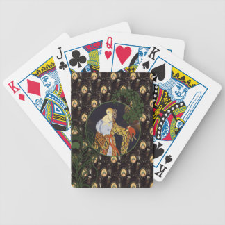 Art Deco ladies Bicycle® Poker Playing Cards
