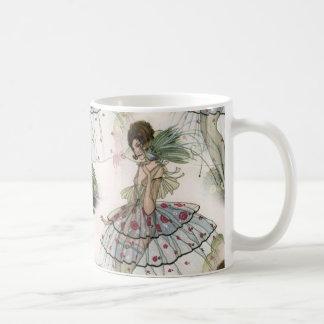 Art Deco ladies White 11 oz Classic Mug