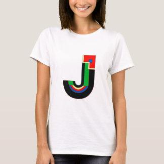 Art Deco Letter J T-Shirt