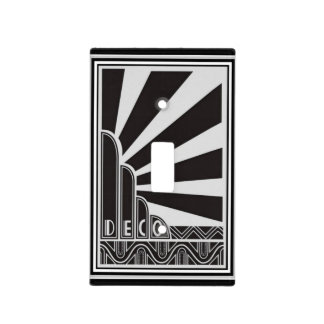 Art Deco Light Switch Cover