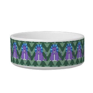Art Deco Lions pet bowl