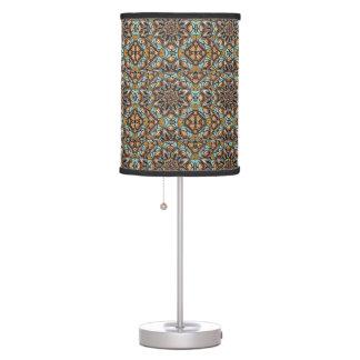 Art Deco Mandala Pattern Table Lamp
