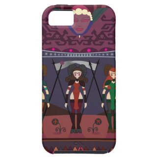 ART DECO MARSIAN WARRIORESS CASE FOR THE iPhone 5