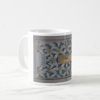 Art Deco Metal Design Coffee Mug