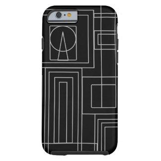 Art Deco Monochrome I phone case