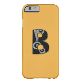 art deco monogram - B Barely There iPhone 6 Case