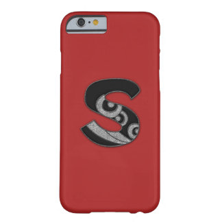 art deco monogram - S Barely There iPhone 6 Case