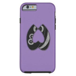 art deco monogram - W Tough iPhone 6 Case