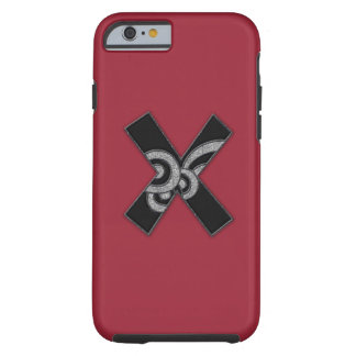art deco monogram - X Tough iPhone 6 Case