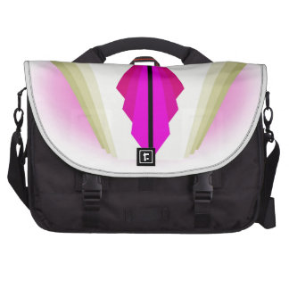 Art Deco Motif in Pinks and Creams Laptop Computer Bag