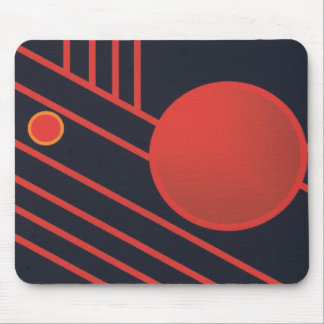 Art Deco Mouse Pad