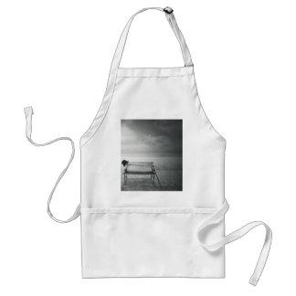 Art déco noir et blanc d'art de photo, cru, mémoir tabliers