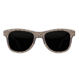 Art Deco on the Go Sunglasses