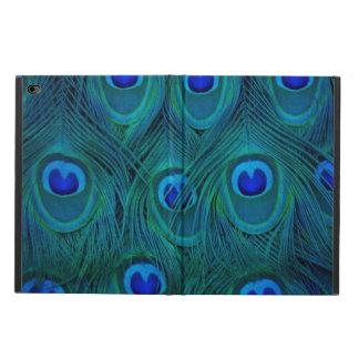 Art Deco  Parisian Teal Green Peacock Feather Powis iPad Air 2 Case
