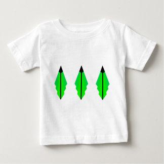 Art Deco Pattern 3 in Green Baby T-Shirt