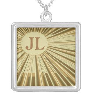 Art Deco Personalized Necklace