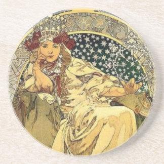Art Deco Princess Coaster