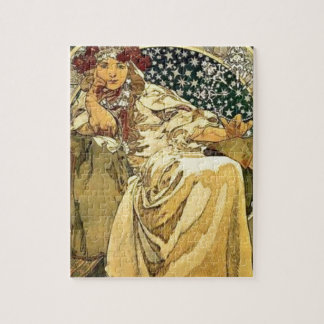 Art Deco Princess Jigsaw Puzzle