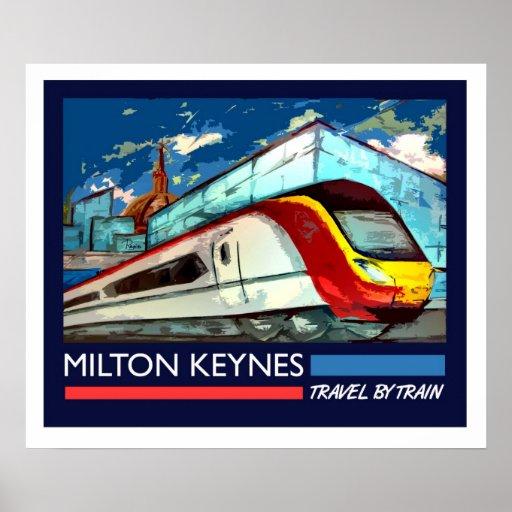 Art Deco Railway poster