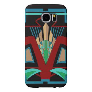 Art Deco Samsung Galaxy 6 Case (Black) Samsung Galaxy S6 Cases