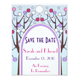 Art Deco Save the Date Announcement