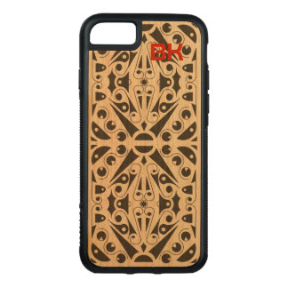 ART DECO SCANDINAVIAN CUSTOMIZE by Slipperywindow Carved iPhone 8/7 Case