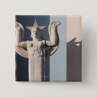 Art Deco Sculpture at the State Fair of Texas 2 Inch Square Button