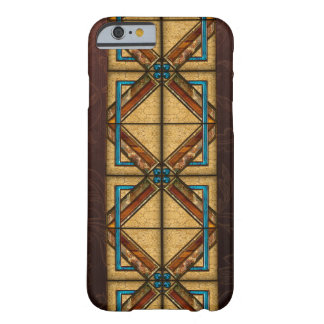 Art Deco Squares Barely There iPhone 6 Case