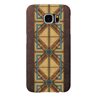 Art Deco Squares Samsung Galaxy S6 Cases