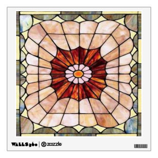 Art Deco Stained Glass 2 Wall Decal